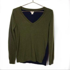 J.Crew Green Wool Sweater #413